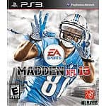 Madden NFL 13 (Xbox 360 or PS3)