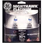 2-Pack GE Nighthawk Platinum Headlight Bulbs (Low Beam or High Beam)