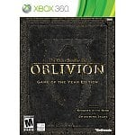 The Elder Scrolls IV Oblivion: Game of the Year Edition (Xbox 360, PS3, or PC)