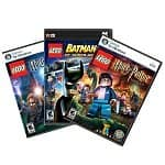 The LEGO Harry/Batman Pack (PC Digital Download): LEGO Batman 2: DC Super Heroes, LEGO Harry Potter (years 1-4), LEGO Harry Potter (years 5-7)