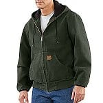 Carhartt Coupon for Additional 40% off Already-Reduced Outlet Items: Men's Sandstone Thermal Lined Active Jacket $40.50