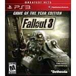 Fallout 3: Game of The Year Edition (PS3 or 360) $10, Oblivion Game of the Year Edition (PS3 or 360)