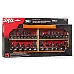 "30-Piece Skil Router Bit Set (1/4"" Diameter Shank)"