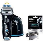Braun Series 7 Shaver System 760CC Bonus Pack w/ Free Shaver Head