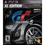 PS3 Games: Gran Turismo 5 XL $10, God of War Saga $15, Ratchet & Clank Collection