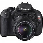 Canon EOS Digital Rebel T3i 18MP SLR Camera w/ 18-55mm Lens + 55-250mm IS Lens + 75-300mm Lens + 16GB Lexar Class 10 SDHC Memory Card