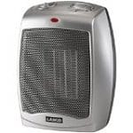 Lasko Ceramic Heater with Adjustable Thermostat (754200)