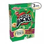 3-Pack of Apple Jacks Cereal (12.2-oz)
