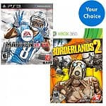 Walmart 2 for $50 Game Bundles (Xbox 360 or PS3): NBA 2K13, Doom 3, Battlefield 3 Premium Edition, Dishonored, FIFA 13