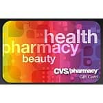$20 CVS eGift Card (redeemable at CVS Stores)