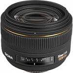 Sigma 30mm f/1.4 EX DC HSM Autofocus Lens (All Bodies)