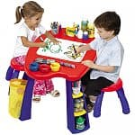 Crayola Creativity Play Station with 2 Stools