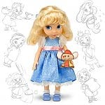 "Disney Animator's Collection 16"" Character Dolls: Belle, Ariel, Cinderella, Pocahontas, Mulan, Jasmine, Aurora, & more"