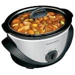 Hamilton Beach Kitchen Electrics: 4-quart Oval Slow Cooker or Personal Blender