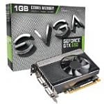 EVGA GeForce GTX 650 1GB GDDR5 Graphics Card (01G-P4-2650-KR) + Assassin's Creed III PC Game Coupon