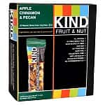 12-Pack of KIND Fruit & Nut Bars: Apple Cinnamon & Pecan, Peanut Butter & Strawberry, Cherry Almond