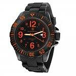 Smith & Wesson Military Style (Black IP) Men's Quartz Watch (SWW-W-HF20)