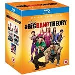 The Big Bang Theory Seasons 1-5 (Region Free Blu-ray)