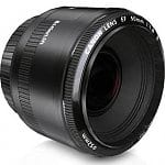 Canon Refurbished Lenses: 55-250mm f/4-5.6 $120, 40mm f/2.8 STM $112, 50mm f/1.8 II