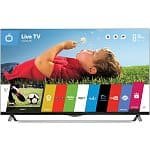 "49"" LG 49UB8500 4K 120Hz Smart 3D LED TV w/ WebOS + 2-Pairs of 3D Glasses"