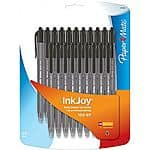 20-Pack PaperMate Retractable Ballpoint Pens (black or assorted)