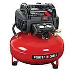 Porter-Cable C2002 6-Gallon 150 PSI Portable Air Compressor (refurbished) for $74.99 with free shipping
