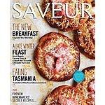Saveur Magazine $4.70 per year