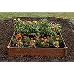 "Greenland Gardener 42""x 42"" Raised Garden Bed Kit $21.73 at Home Depot"