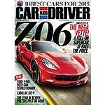 Car & Driver $4.50/yr, Road & Track $4.50/yr, Automobile $4.50/yr