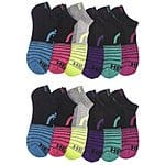 12-Pairs of Head Women's Moisture Wicking Athletic Socks $14.99 with Free Shipping