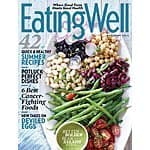 Eating Well Magazine $4.50/yr or Weight Watchers Magazine $4.50/yr