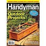 Family Handyman Magazine  $7/yr