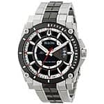 Bulova Men's Precisionist Two-Tone Steel Watch w/ Black Ion-Plated Accents $165 with free shipping