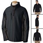 Devon & Jones 3-Season Softshell Jacket in Black (Men's & Women's)  $17 + Free Shipping
