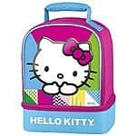 Hello Kitty Thermos Dual-Compartment Lunch Kit $7 at Amazon