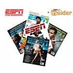ESPN The Magazine 1-year subscription (26 issues) + ESPN Insider Membership