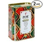 2-pack Zoe Organic Extra Virgin Olive Oil in 25.5-oz Tins