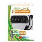 Xbox 360 Live 12 Month Gold Messenger Starter Pack