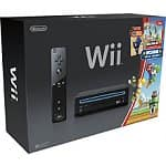 Nintendo Wii Gaming System with New Super Mario Bros + Mario Music CD