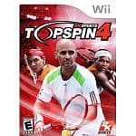 Top Spin 4 (Wii) $9.50, Hasbro Family Game Night 3 (Xbox 360) $14.50