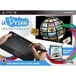 uDraw GameTablet w/ uDraw Studio: Instant Artist (PS3 or Xbox 360) $40, uDraw Studio Game & Tablet (Xbox 360 or Wii)