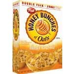 2-pack Honey Bunches of Oats Honey Roasted in 48-oz Boxes (96-oz total)