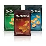 Popchips: 6-Flavor Variety Pack 0.8-oz (24-pk) $11, Barbeque Potato Chips 0.8-oz (24-pk) $11, Original Potato Chips 0.8-oz (24-pk)