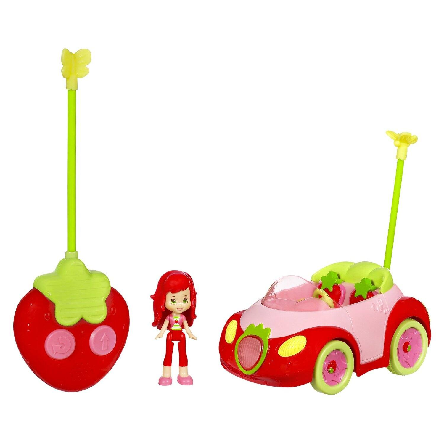 Strawberry Shortcake Dolls & Toys: Berry Best 5-Doll Set $20, Sun Lovin Convertible RC Vehicle $11, Strawberry Shortcake Memory Game $5 & More + Free In-Store Pick Up