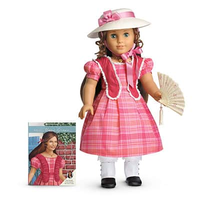 American Girl: Marie-Grace Doll, Book, & Accessories $50, Cecile Doll, Book, & Accessories $50, Half-Canopy Bed $50 + Shipping