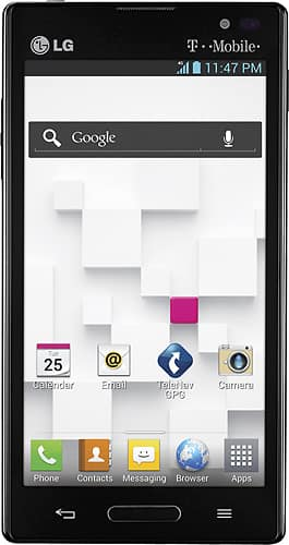 "T-Mobile LG Optimus L9 Android 4.0 Pre-paid Smartphone w/ 4.5"" Screen (no contract) + $50 Prepaid Card $200 + Free Shipping"