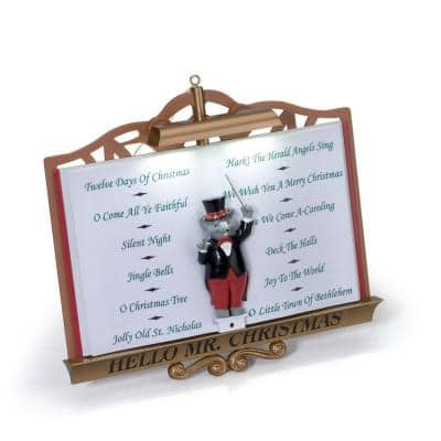 Mr. Christmas Voice Recognition Christmas Tree Ornament - Lights and Sounds of Christmas - $9.99 (WAS $39) - Turn your Christmas tree lights into a song and lightshow - Home Depot