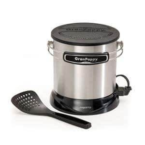 Presto GranPappy Elite Electric 6-Cup Deep Fryer, Stainless Steel for $15 + Free Store Pickup at walmart