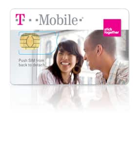 Free T-Mobile Prepaid Phone SIM Card Activation Kit (Regular or Micro)