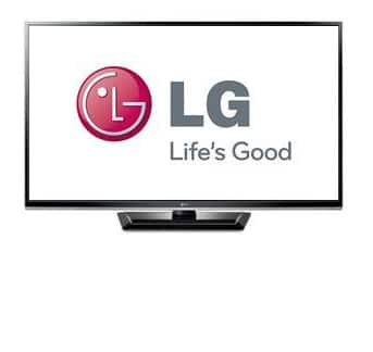 "60"" LG 60PA5500 1080p 600Hz Plasma HDTV $700 after $100 Rebate + Free Shipping"